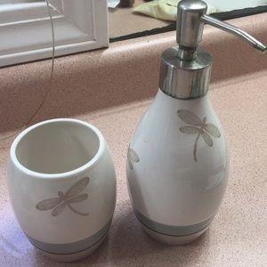 Soap dispenser & Tumbler